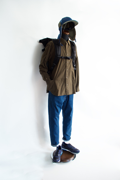 MeanswhileのPackable Flannel Shirts
