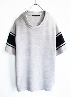 Jigsaw Recycle Cotton Football Pull-Over