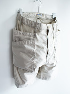 White line Change Cloth Military Short