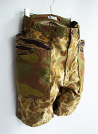 White line Change Cloth Military Camo Short