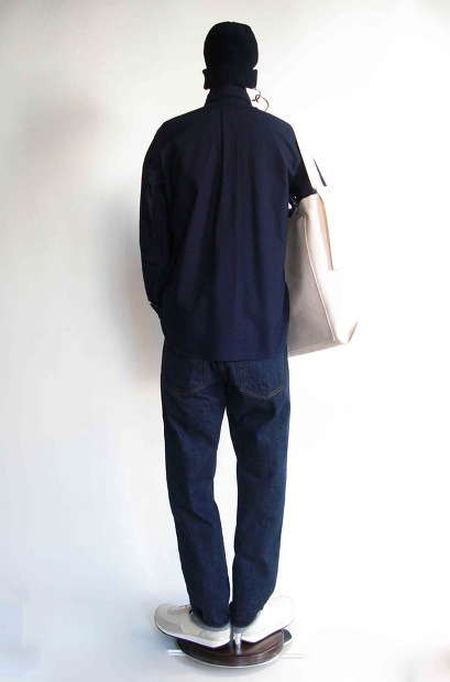 Manual AlphabetのPeru Pima Ox B/D ShirtsのNAVY