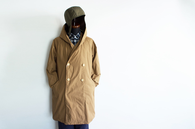 Manual alphabetのWander Coat Overdy
