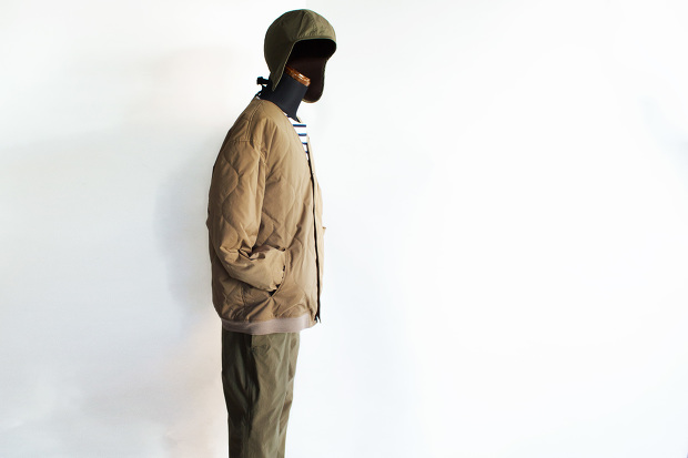 MeanswhileのBlackbord Cloth Saillor PantsのForestのスタイル画像