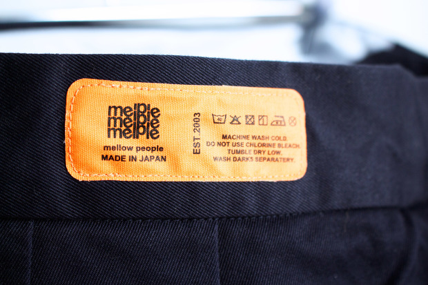 Melple Madison Navyのタグの画像