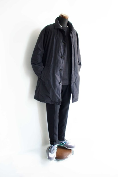 Have a good day×Nangaの Down CoatのBlackのコーディネートの画像