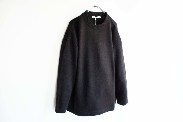 Island knit worksのLoose fit KnitのBlackの画像