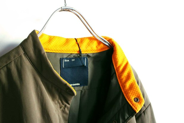 Meanswhile Peach Cloth Thinsulate Shirts Jacket
