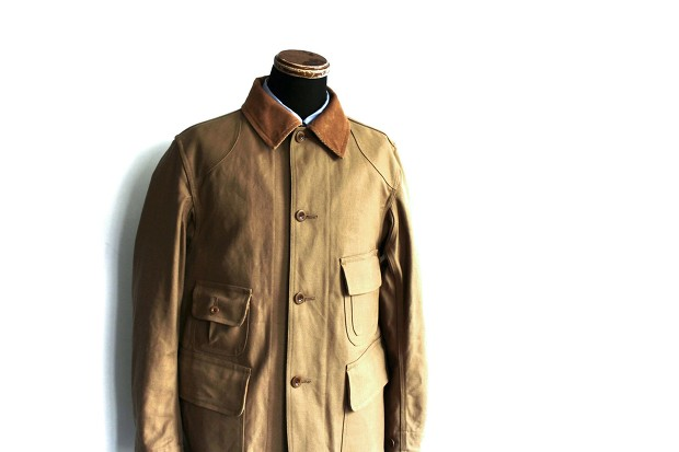 A Vontage Old Hunting Jacket