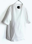 Meanswhile Suvin Giza Cotton Sack Tee 2色展開