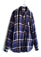 White line Lyocel Check Shirt