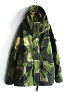 Swedish Army GORE-TEX Jacket Deadstock 2色展開(Camo, Black)