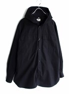 Brena Hood Work Shirts Jacket
